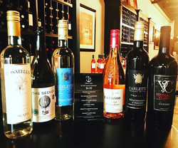 Happy hour all day! Wine by the glass for $6