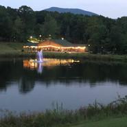 Venue across the lake