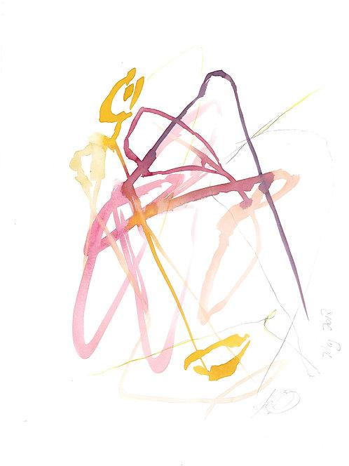 Abstract 305 Giclee Print