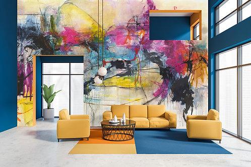 Wall Mural 'Kelly O'Neal Art'
