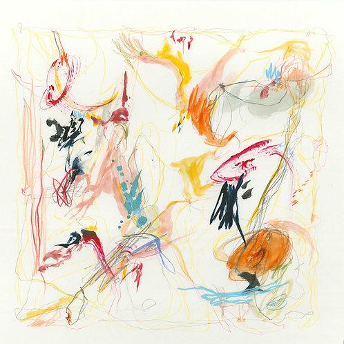 Abstract 417 Giclee Print