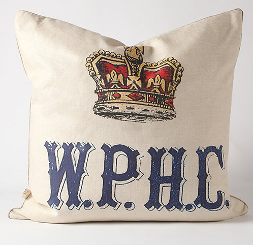 Crown W.P.H.C Image Euro Pillow Cover