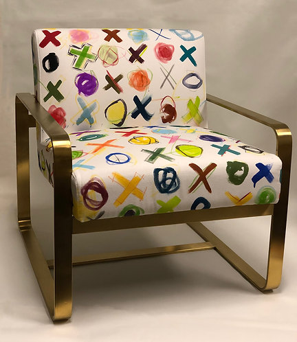 SAXON CHAIR - X's & O's