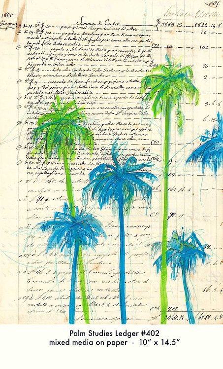 Palm Studies 403 (10x14.5) Original