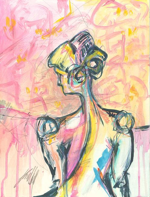Nude 411 (10x13) Original