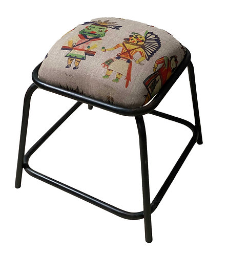 KACHINA SMALL STOOL