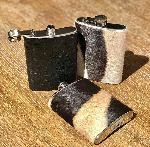 Hide wrapped flask