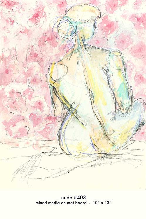 Nude 403 (10x13) Original