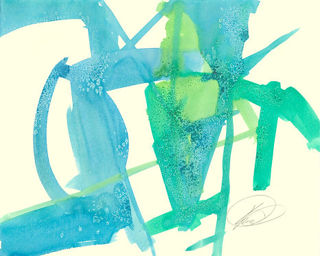 Abstract 414 Giclee Print