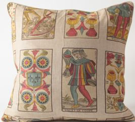 Tarot Fabric Euro Pillow Cover