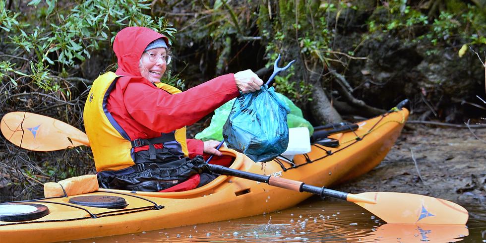 Kayaking Clean-Up