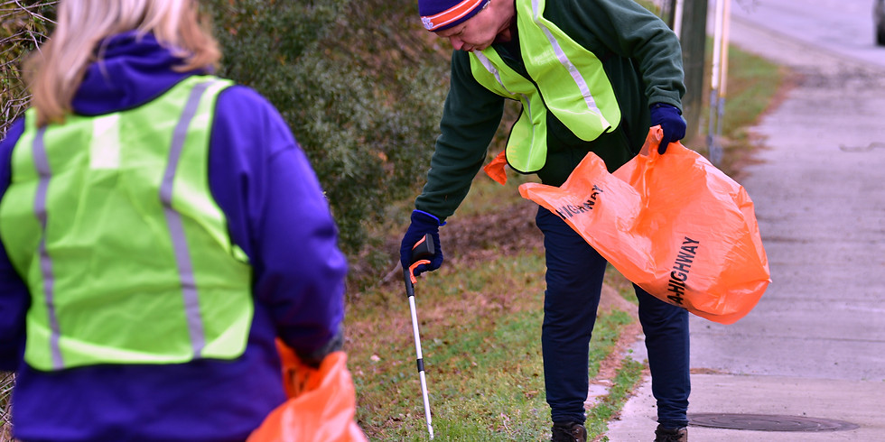 Great American LAND Cleanup - Jamestown!