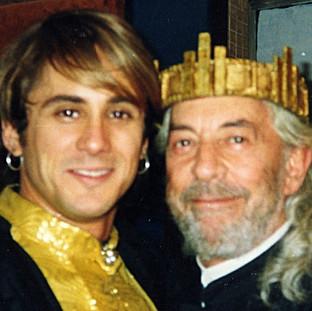 Raul Cortez e Nicolas Trevijano