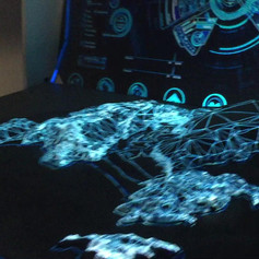 3D Interactive Hologram