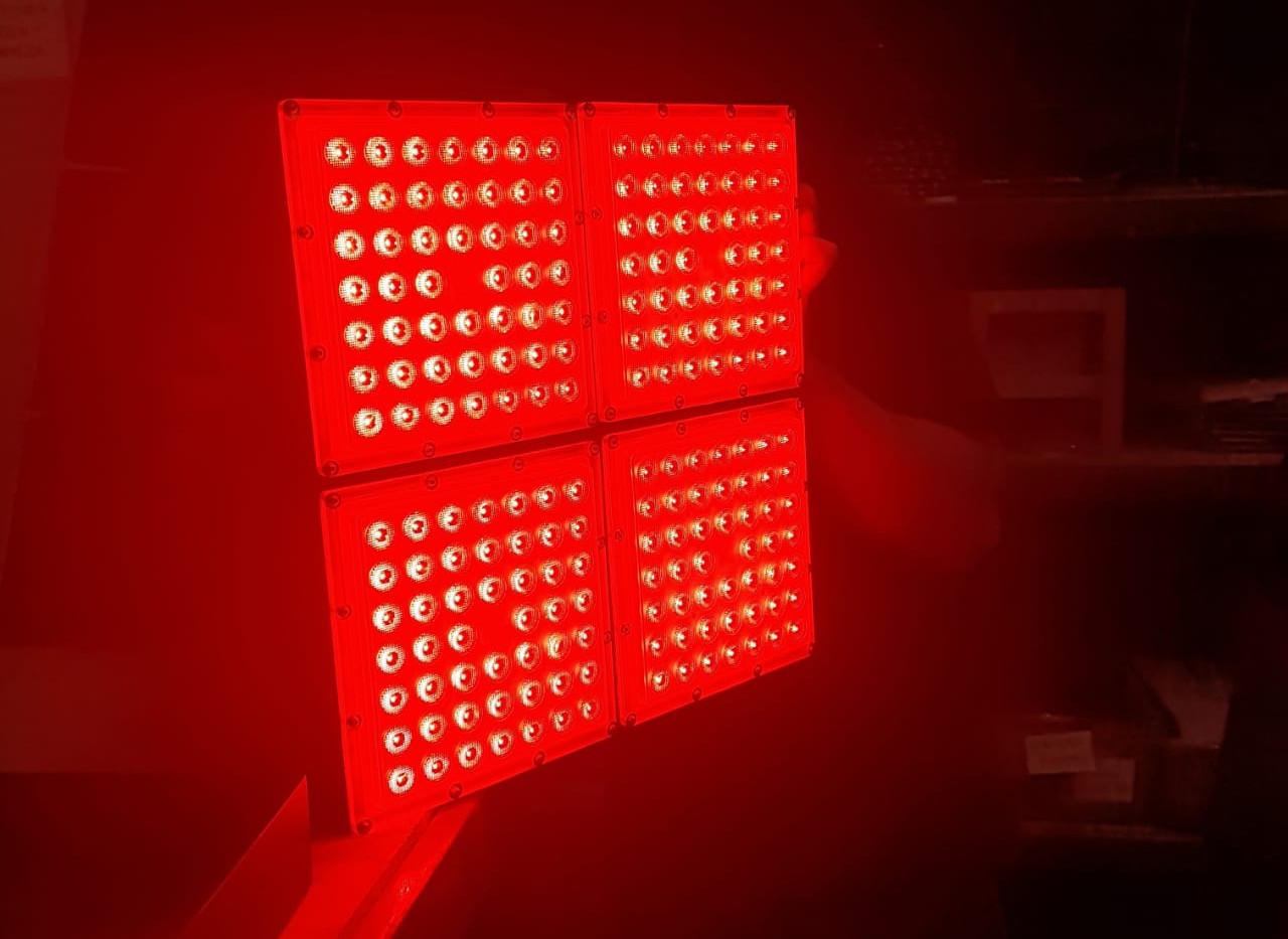 """Luminaria específica para """"El Rojo"""""""