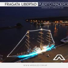 Fragata Libertad en Buenos Aires