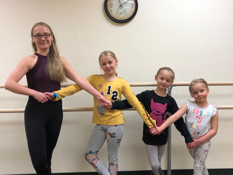 PAC receives donation for Ballet Barre