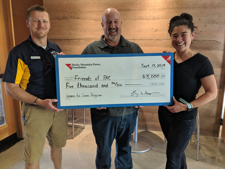 Rocky Mountain Power Foundation Awards Grant Funds to Learn-to-Swim Programs