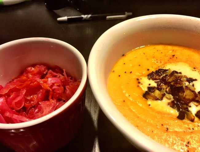 HOME MADE PALEO ORGANIC ROOT VEGETABLE SOUP - vegetarian and vegan friendly