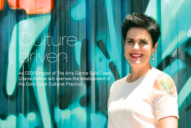 Feature Article Cove Magazine - Criena Gehrke