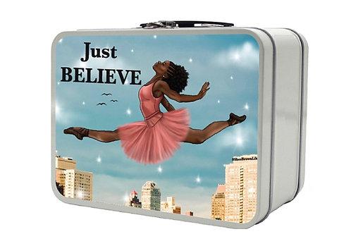Ballerina Retro Lunchbox