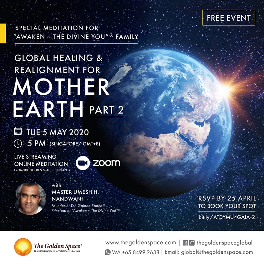 Global Healing and Realignment for Mother Gaia