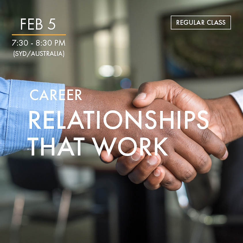 CAREER - Relationships that Work