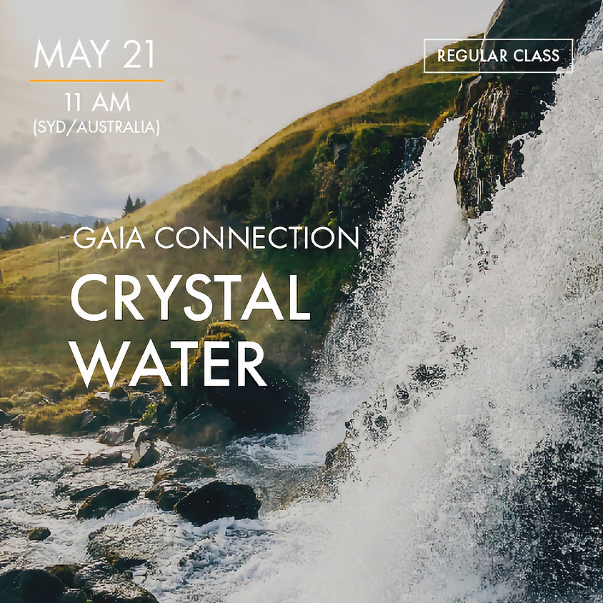 ReBoot - GAIA CONNECTION - Crystal Water