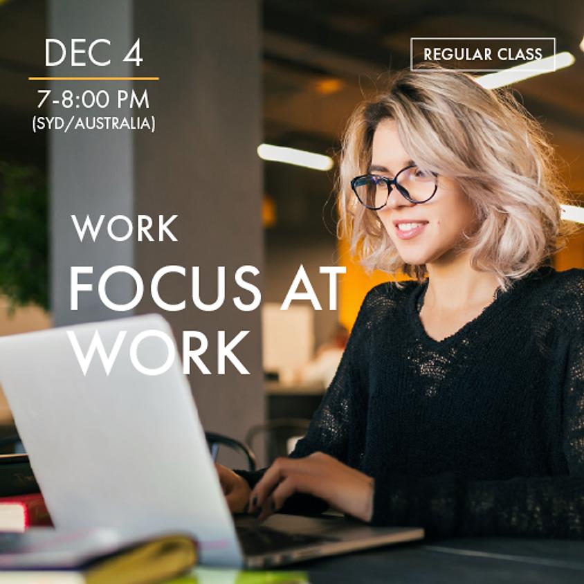 WORK - Focus@Work