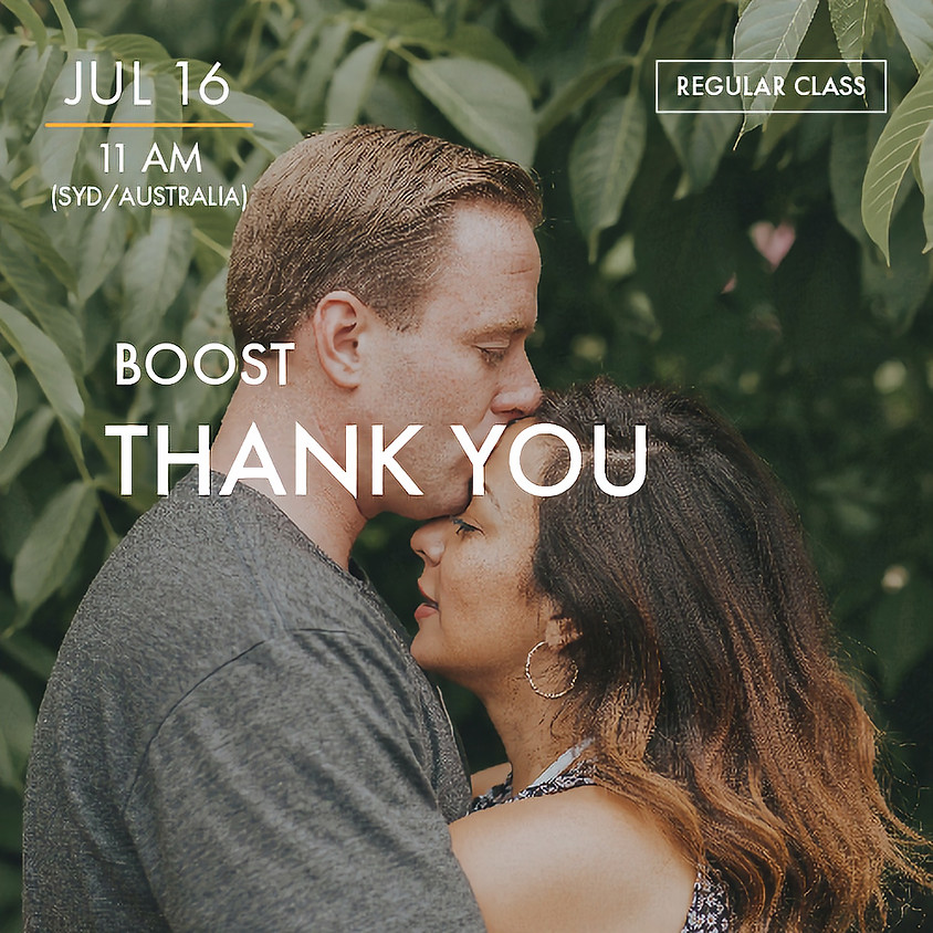 ReBoot - BOOST - Thank You