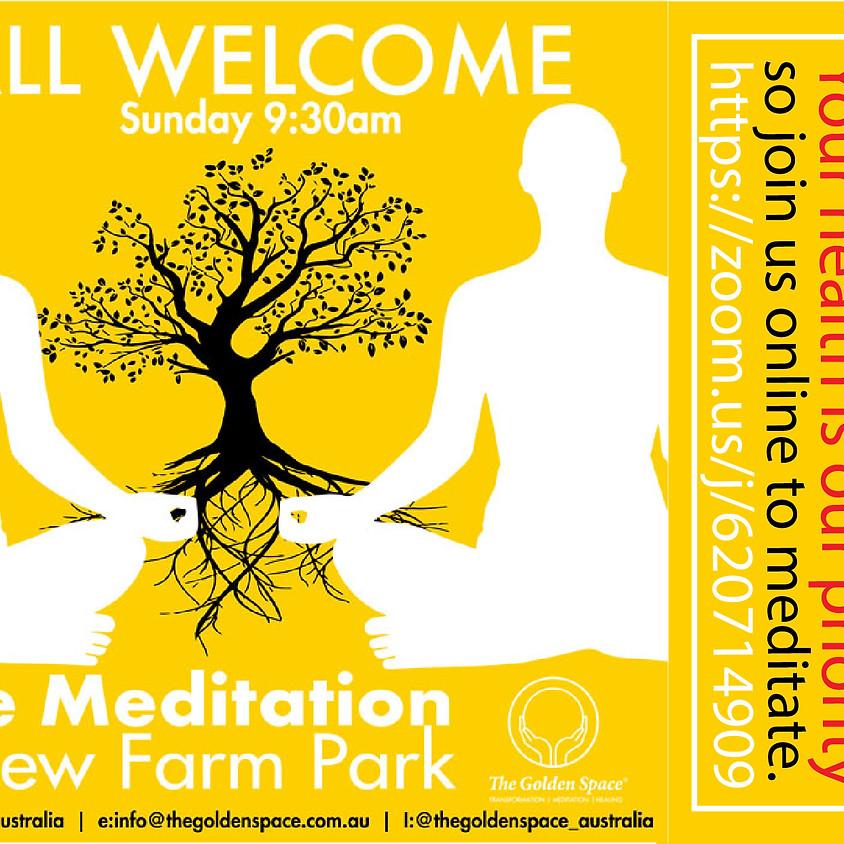 Meditation In New Farm Park- ONLINE