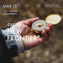CAREER - New Frontiers