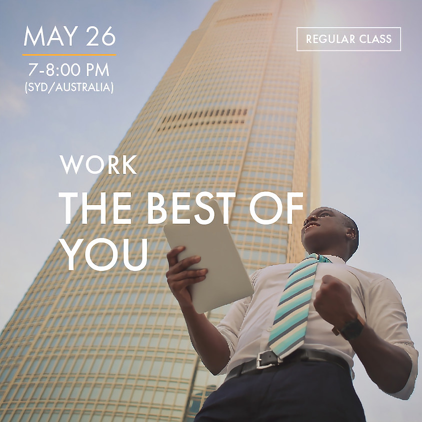 WORK - The Best of You