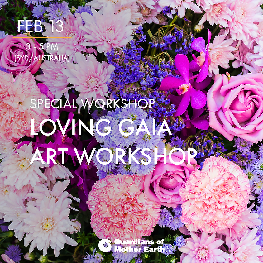 "Valentines ""Loving"" Gaia Art Workshop"