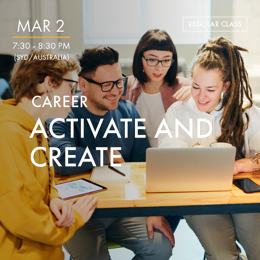 CAREER - Activate and Create