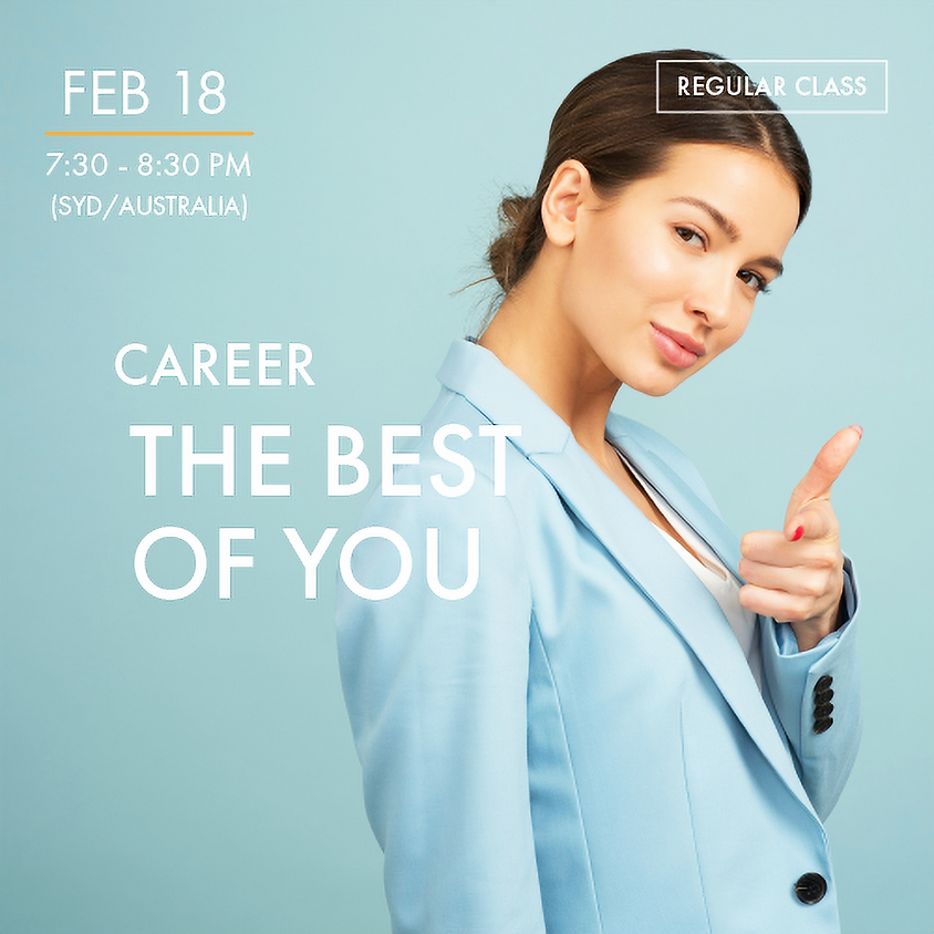 CAREER - The Best of You