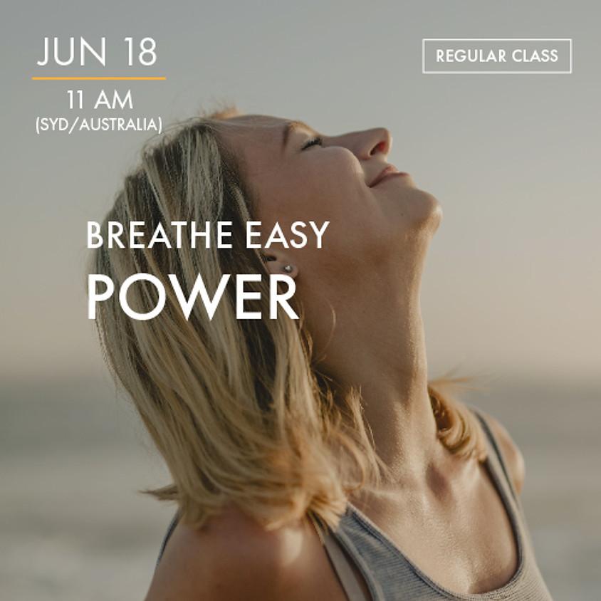 ReBoot - BREATHE EASY - Power