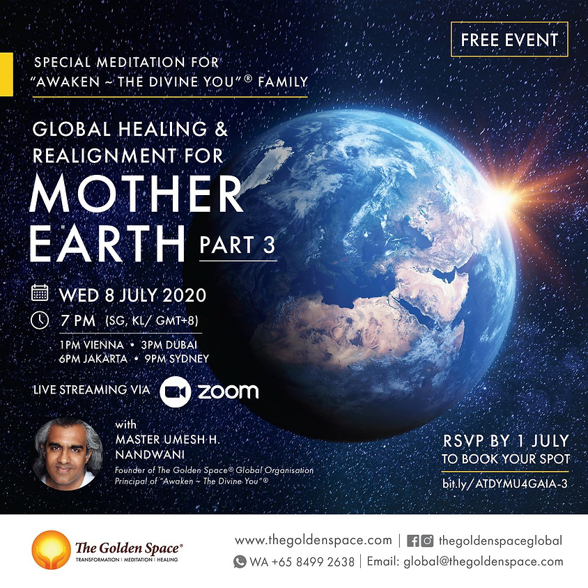 Global Healing and Realignment for Mother Earth Meditation Part 3