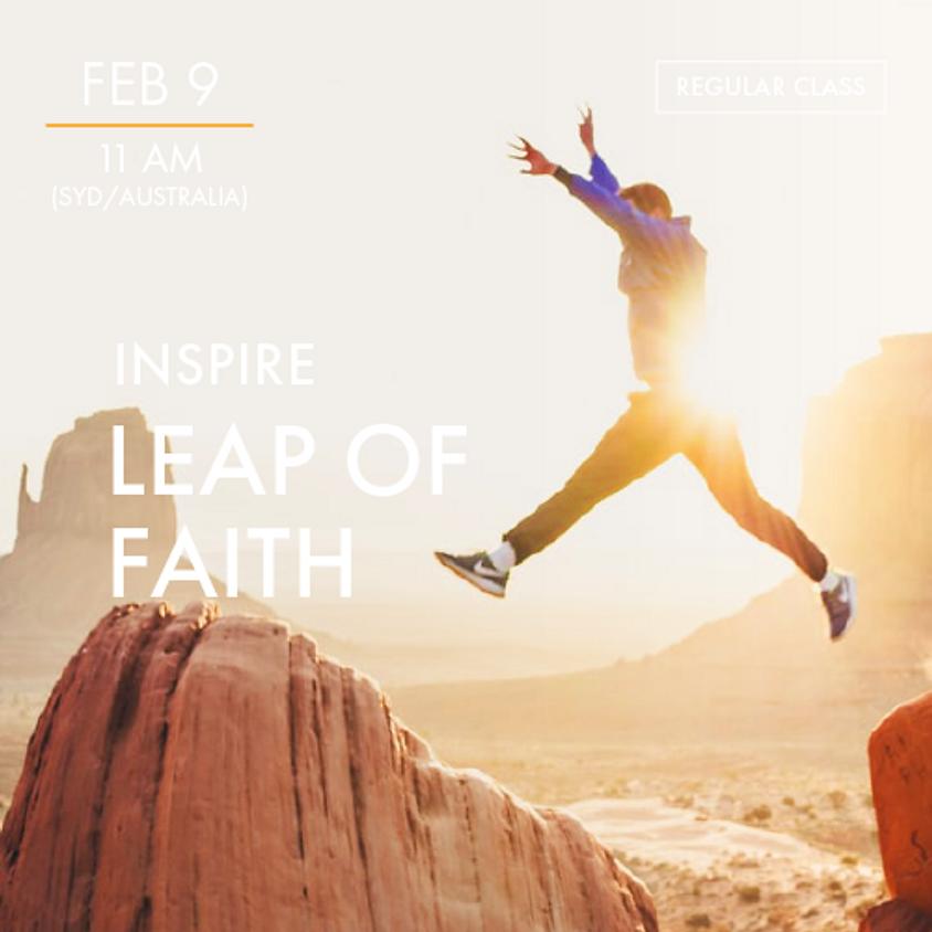 INSPIRE - Leap of Faith