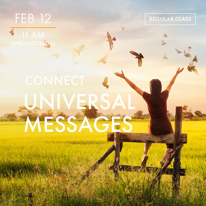 CONNECT - Universal Messages