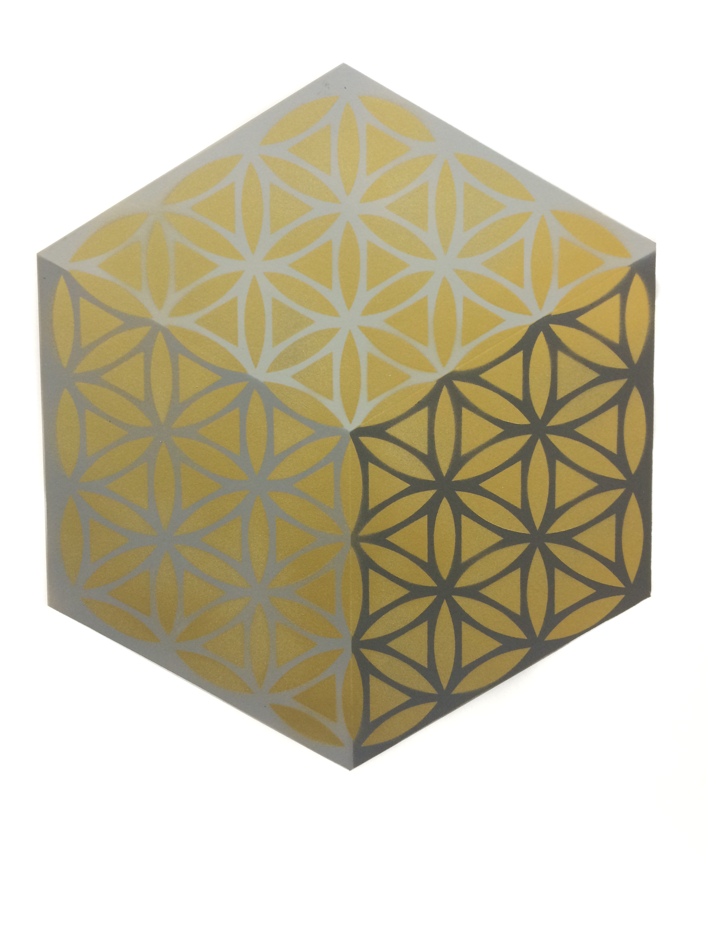 Isometric Flower of Life