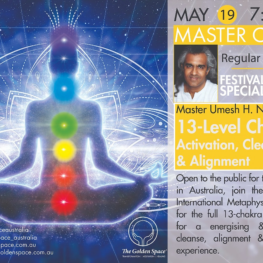 13-Level Chakra Activation, Cleansing & Alignment