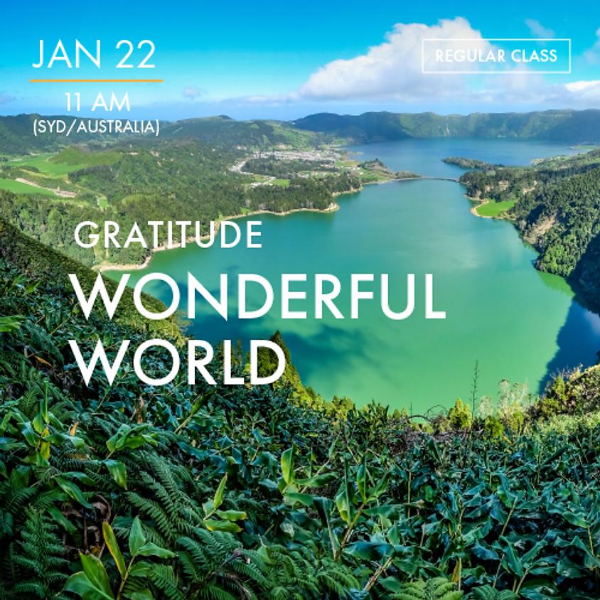 GRATITUDE - Wonderful World