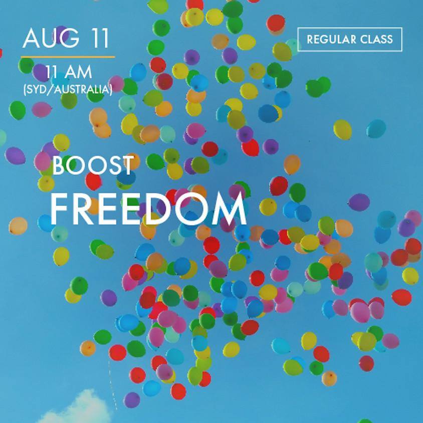 ReBoot - BOOST - Freedom