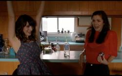 Mara Klein and Megan Rosati in The Roommate