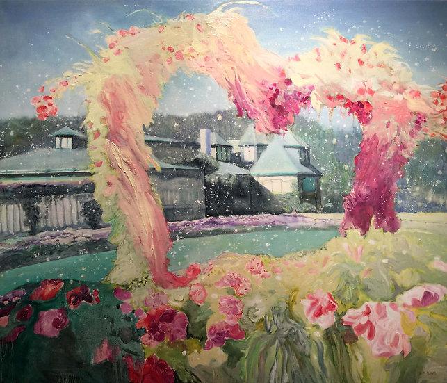 Love, 2016, Oil on Canvas