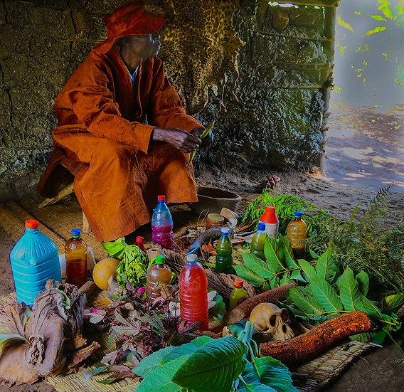 Traditional Healer, Uganda, 2013, Photography