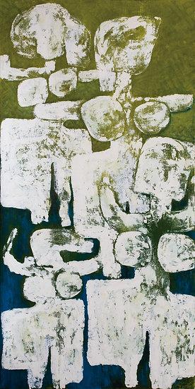 Grand Bathers (20-4), 2020, Acrylic on Canvas