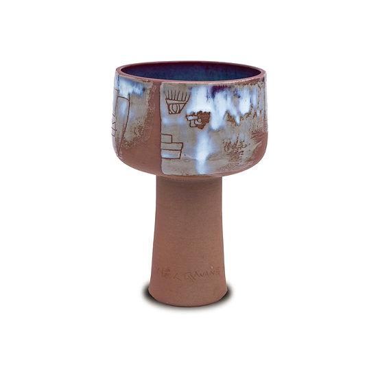 High-Stemmed Bowl, 2019, Ceramics