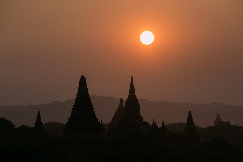 Sunset Over Bagan - 2